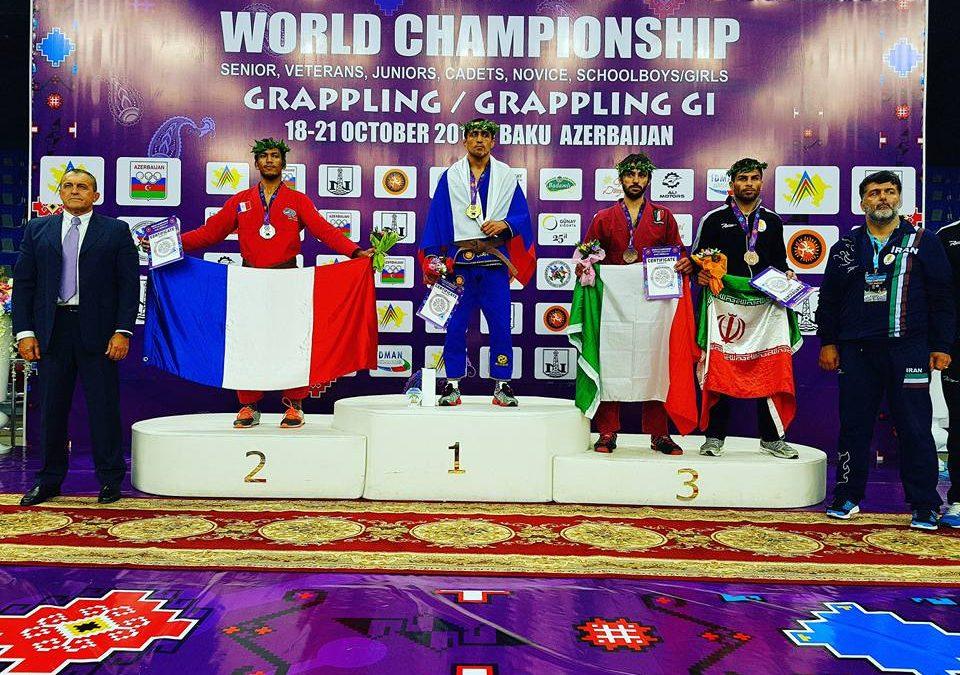 Résultats des championnats du monde Grappling et Grappling Gi